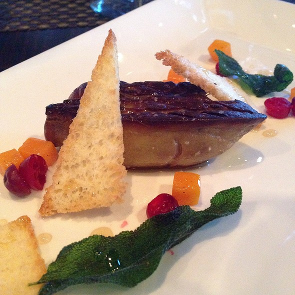 Pan Seared Foie Gras - Six Seven Restaurant & Lounge, Seattle, WA