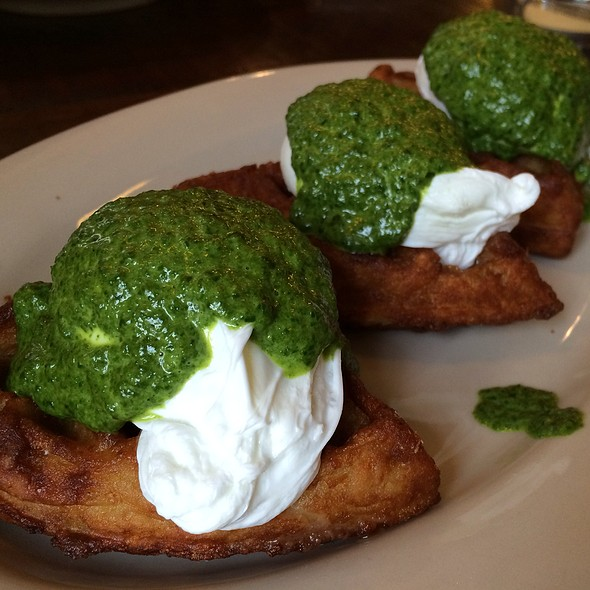 Potato Waffle Benedict - The Smith - Midtown, New York, NY