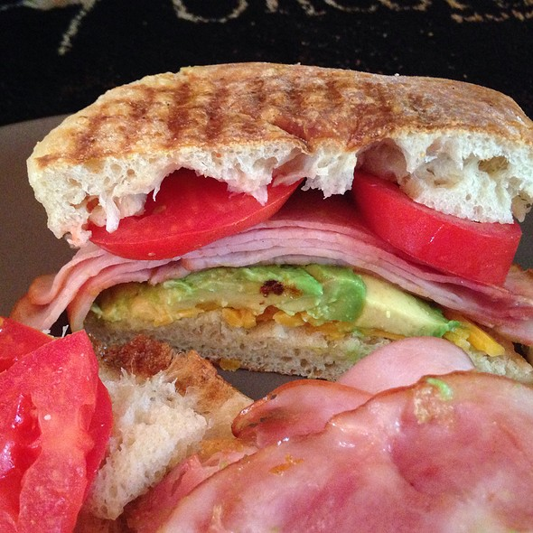 Ham & Avocado Panini - Woodside Bakery & Cafe, Woodside, CA
