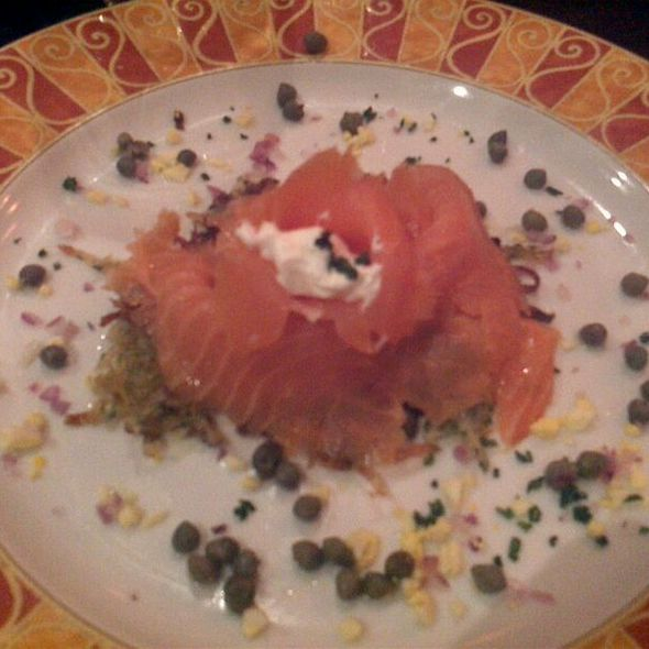Smoked salmon - Evo Bistro, McLean, VA