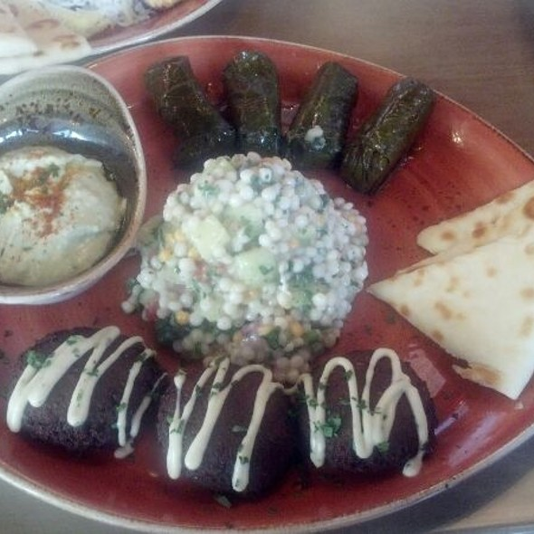 Vegetarian Plater - Cafe Luna - San Diego, San Diego, CA