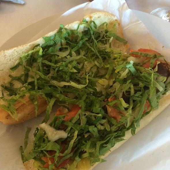 Lamb Sausage Sandwich - Mazza - 9th and 9th, Salt Lake City, UT
