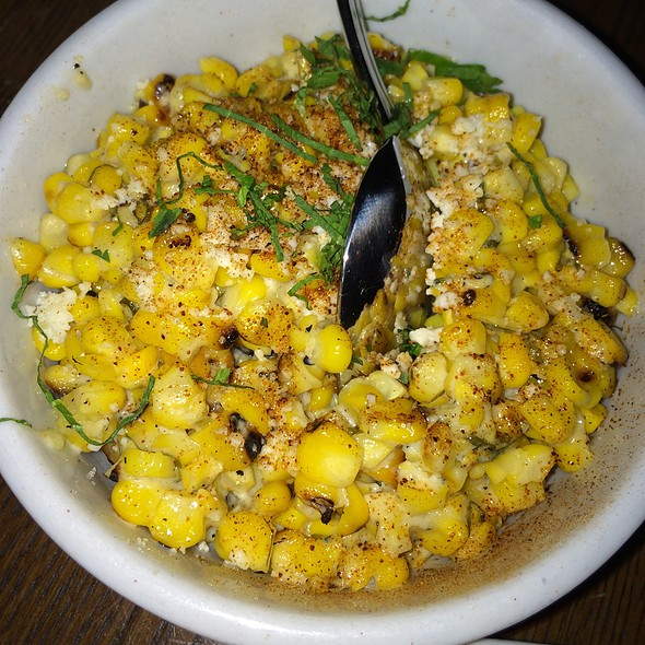 Mexican Street Corn - El Toro Blanco, New York, NY