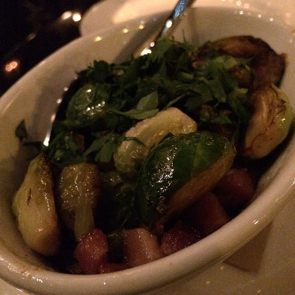 Brussel sprouts - BLT Bar and Grill, New York, NY