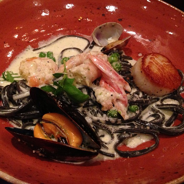 Seafood Linguini - EBO Restaurant & Lounge, Burnaby, BC