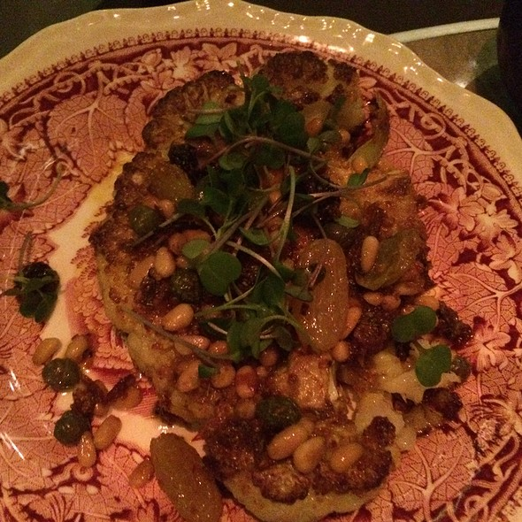 Curried Cauliflower - Rose. Rabbit. Lie. at The Cosmopolitan of Las Vegas, Las Vegas, NV
