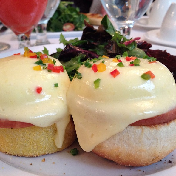 Classic Eggs Benedict - Sarabeth's Central Park South, New York, NY