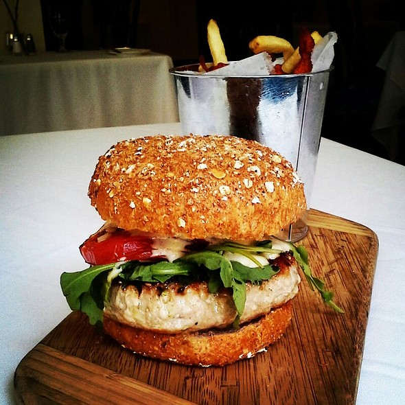 Seared Tuna Burger - Crossroads Chapel Hill, Chapel Hill, NC