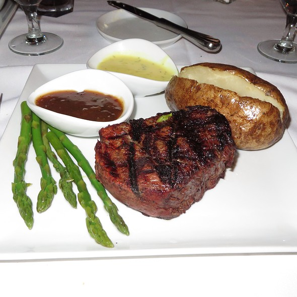 Filet Mignon - THE Steak House at Circus Circus - Las Vegas, Las Vegas, NV