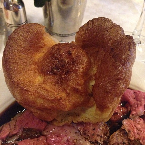 Yorkshire Pudding - Simpson's In The Strand, London
