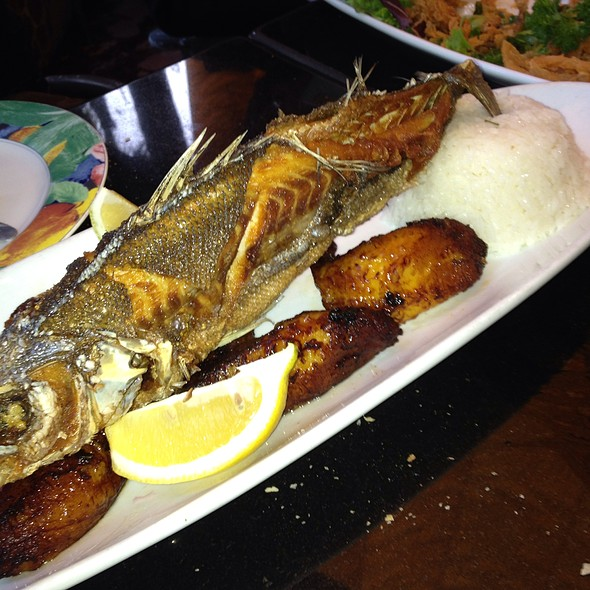 Whole Fried Fish - El Caserio Silver Lake, Los Angeles, CA