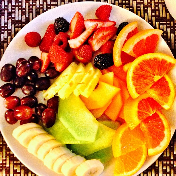 Fruit Plate - The Heathman Restaurant, Portland, OR