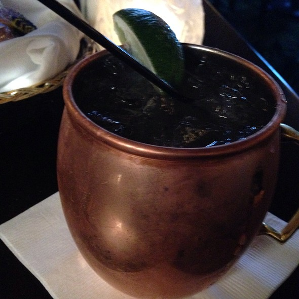 Moscow Mule - Joey Gerard's - A Bartolotta Supper Club - Greendale, Greendale, WI