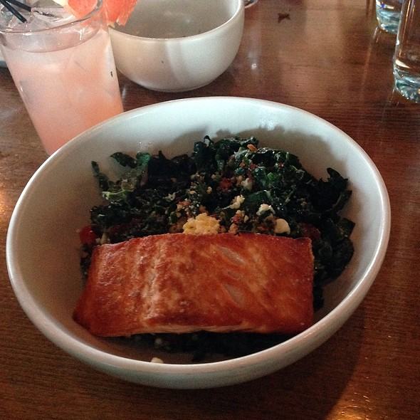 Kale Salad With Salmon - North Italia – Denver, Denver, CO