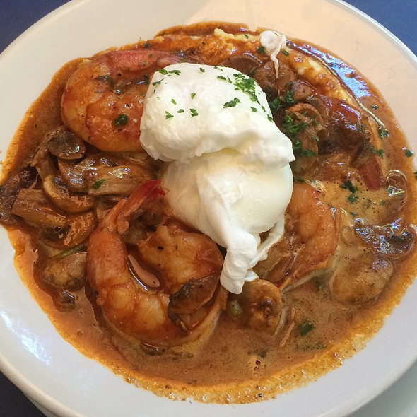 Ultimate Shrimp And Grits - The Blue Fish Restaurant, Jacksonville, FL