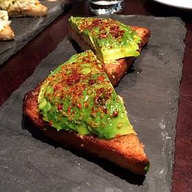 Avocado Toast - Park Tavern, San Francisco, CA