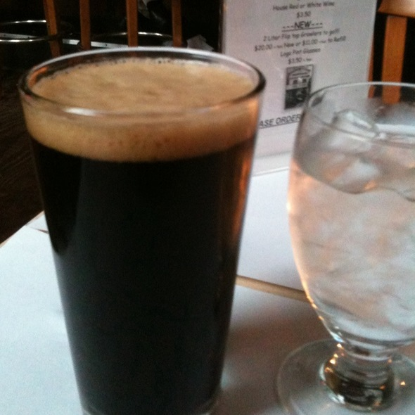 Oatmeal Stout - Calistoga Inn Restaurant & Brewery, Calistoga, CA