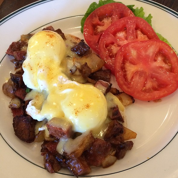 Corned Beef Hash Benedict - Daily Grill - Irvine, Irvine, CA