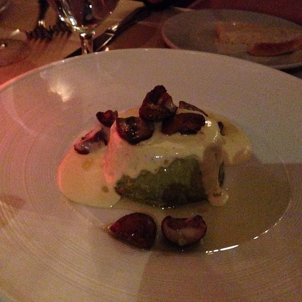 Asparagus Flan - Antica Roma Trattoria Mozzarella Bar, Miami Beach, FL