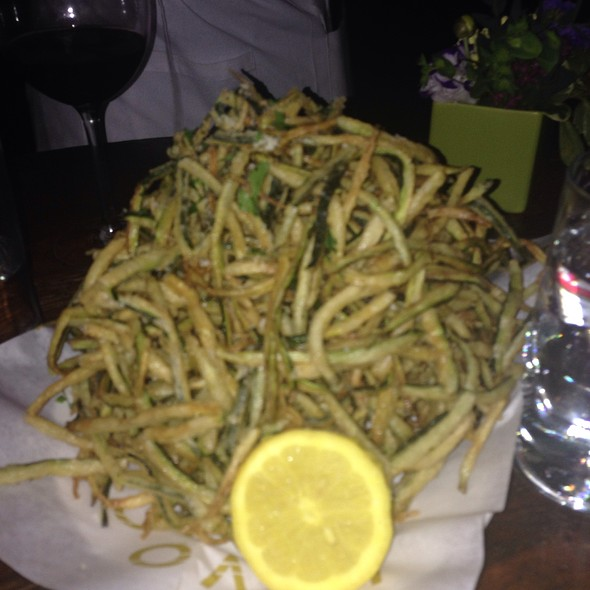 Zucchini Fries With Parmesan - Lavo - NYC, New York, NY