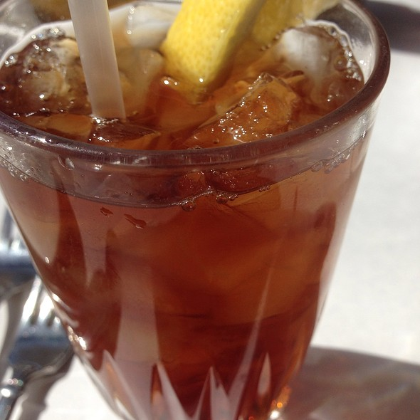Iced  Tea - Piccolo Mondo - Hyde Park, Chicago, IL
