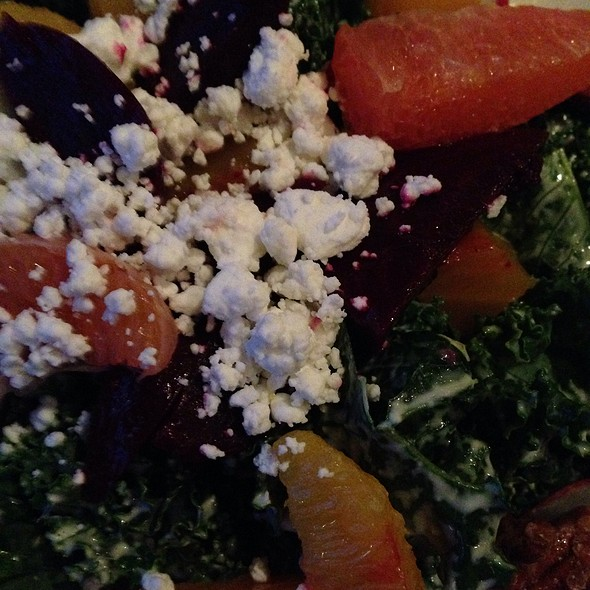 raw kale salad - The Southern, Chicago, IL
