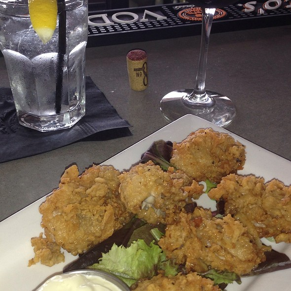 fried oysters - Bridges Restaurant - MD, Grasonville, MD