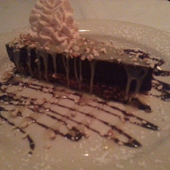 Chocolate Mint Pie - Mickey Mantle's Steakhouse, Oklahoma City, OK