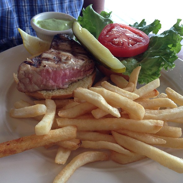 Grilled Yellowfin Tuna Sandwich - Carrol's Creek Cafe, Annapolis, MD