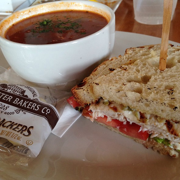 Half Ono Sandwich & Fishery Soup - The Fishery, San Diego, CA