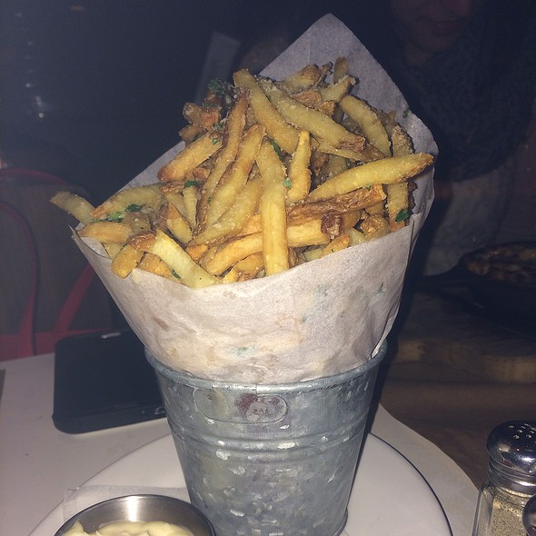 Truffle-Parmigiano Fries - Delicatessen, New York, NY