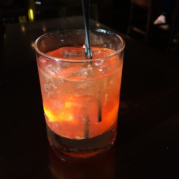 New Old Fashioned - PARKVIEW KITCHEN AND SPIRITS, Cupertino, CA