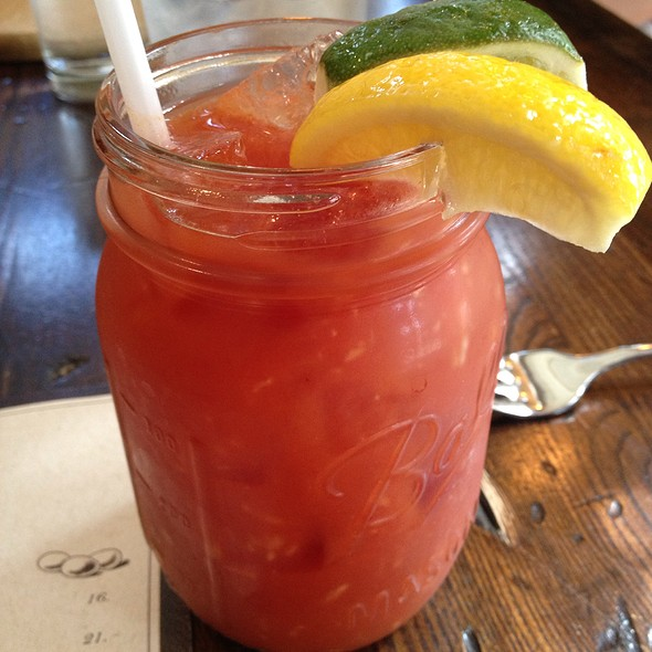 Bloody Mary - The Barn, Bedford, NY