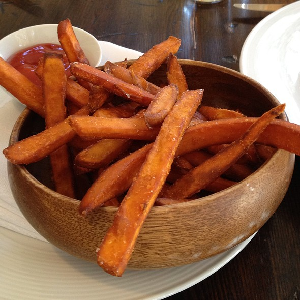 Sweet potato fries - The Barn, Bedford, NY