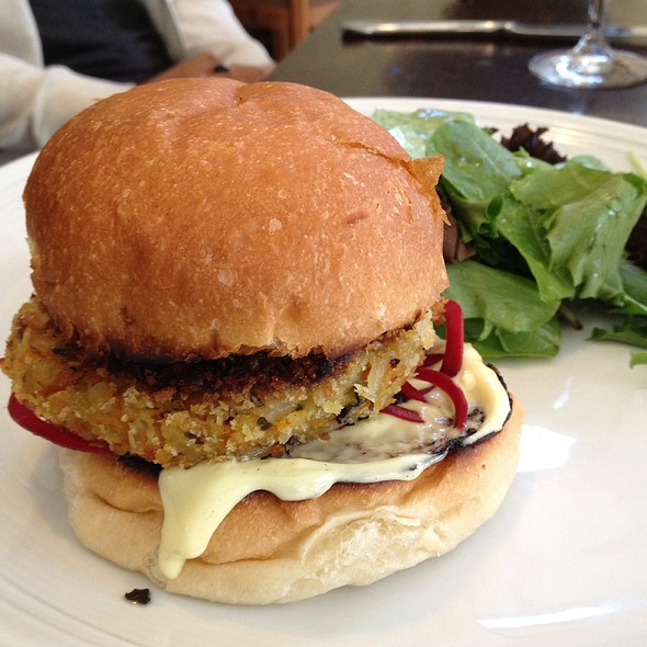 Jasmine Rice Veggie Burger - The Barn, Bedford, NY