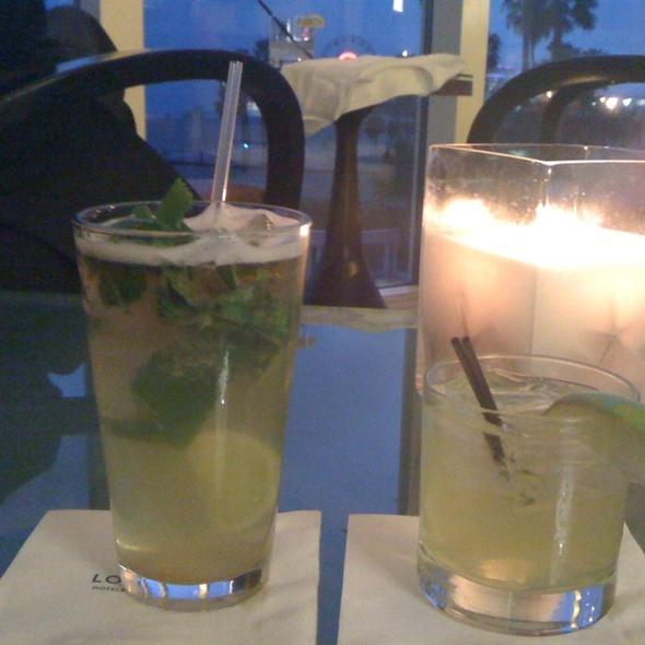 Mojito - Ocean and Vine at Loews Santa Monica Beach Hotel, Santa Monica, CA