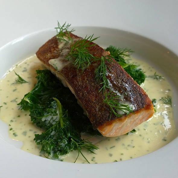 Roasted Salmon - Boisdale of Canary Wharf, London