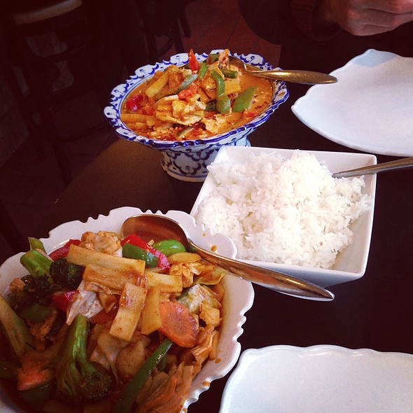 Red Curry - Teak Thai, Cincinnati, OH