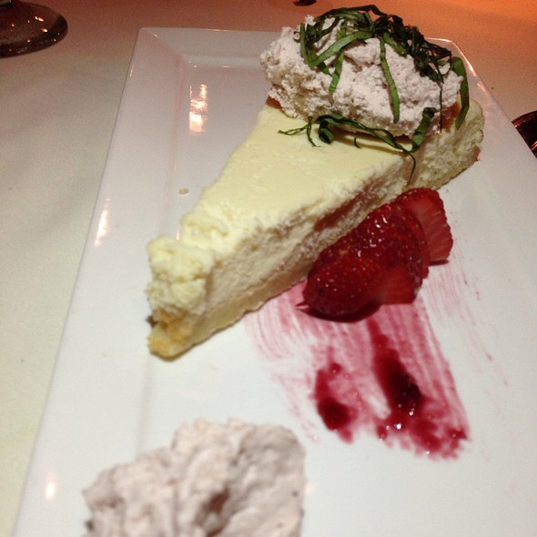 Lemon Goat Cheesecake - Chef's Table at the Edgewater, Winter Garden, FL