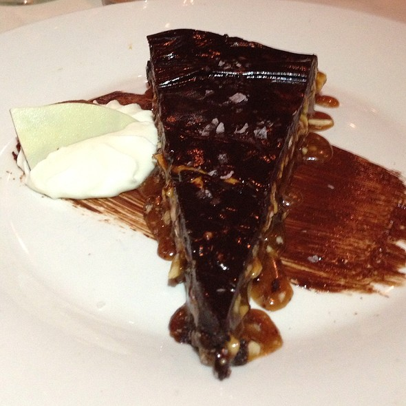 Dark Chocolate & Cashew Torte - Chef's Table at the Edgewater, Winter Garden, FL