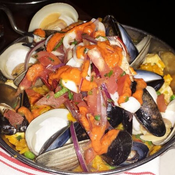 Seafood Paella - AG Kitchen, New York, NY
