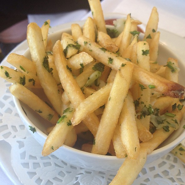 Truffle Fries - Freds - Beverly Hills -At Barneys New York, Beverly Hills, CA