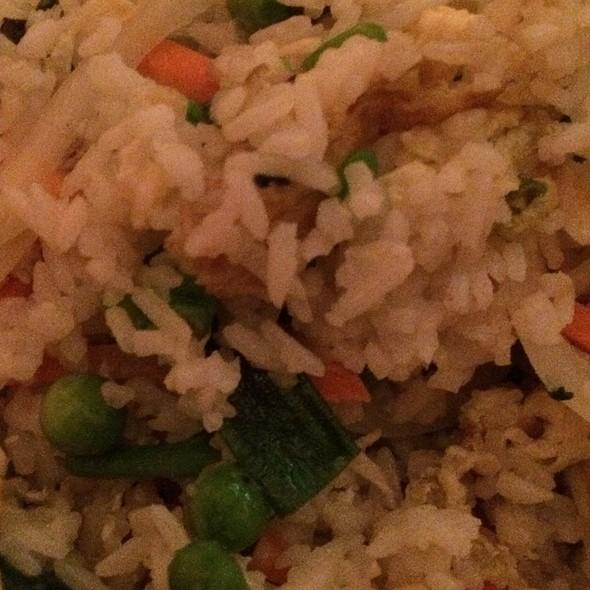 Vegetable Fried Rice - Mr. K's, New York, NY