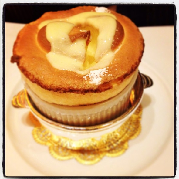grand marnier souffle - Le Cirque - Bellagio, Las Vegas, NV