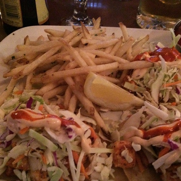 Grilled Swordfish Tacos - The Gambling Cowboy Chophouse and Saloon, Temecula, CA