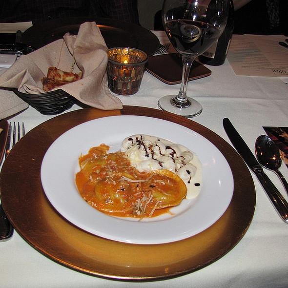 Gorgonzola Gnocchi & Butternust Squash Ravioli - Favaloro's Big Night Bistro, Pacific Grove, CA