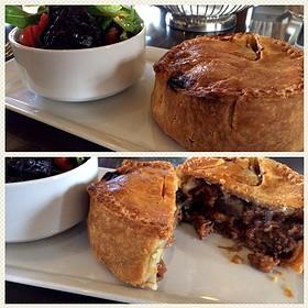 Steak and Mushroom Pie - The Bengal Lounge - The Fairmont Empress Hotel, Victoria, BC
