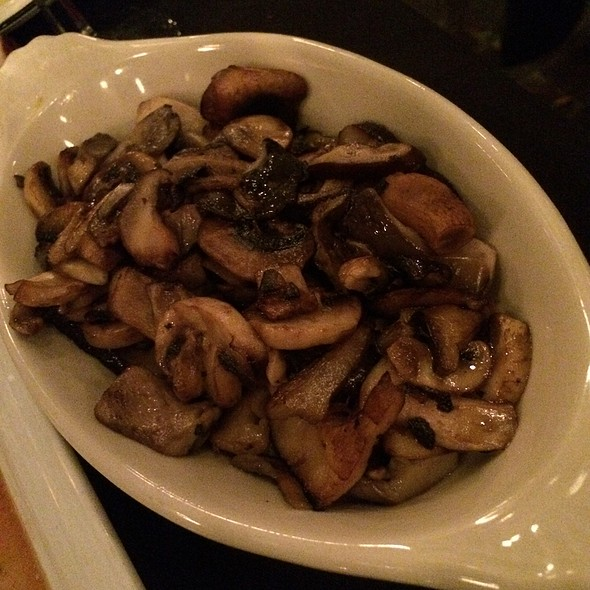 mushrooms - Spencer's Restaurant, Palm Springs, CA