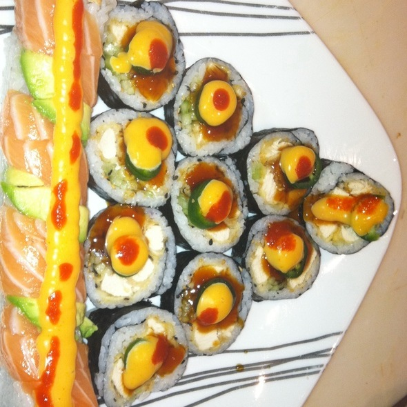 Spicy Chicken Roll W/Jalepeno - Arisu Japanese Restaurant, Englishtown, NJ