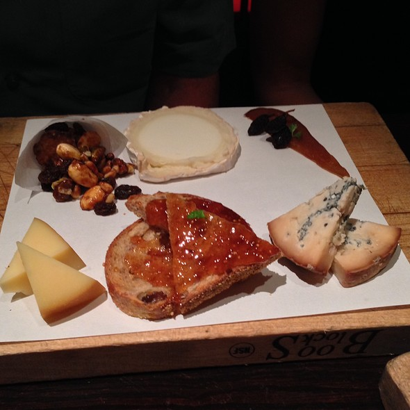 Cheese Plate - Jaleo - The Cosmopolitan of Las Vegas, Las Vegas, NV